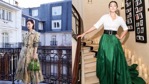 王丽坤现身巴黎演绎人淡如菊的美丽 54岁巩俐女王范十足