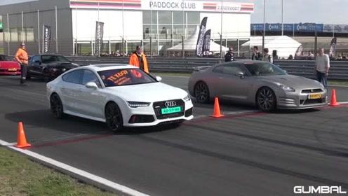 奥迪RS7 vs 奥迪RS3,德国汽车间的较量