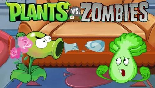 我的世界植物大战僵尸24 石头投手可对成群的僵尸们造成巨大伤害