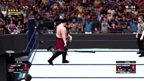 搏击精彩之战:他从背后攻击对手,直接凶猛的拳头就打了上去!
