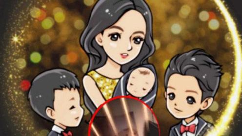 张柏芝疑似三胎儿子正脸照曝光,又白又胖超可爱
