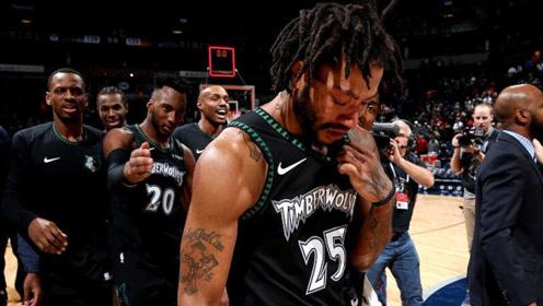 回顾NBA中最催泪3大时刻!科比退役球迷笑着流泪,罗斯50分之夜