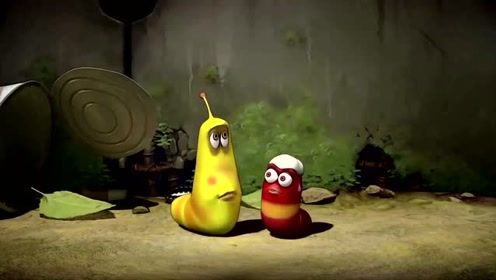 爆笑虫子:小红被冰激凌砸到头,小黄吃了一口好惊喜