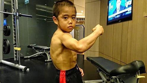 日本8岁小孩每天跑10公里?练到全身肌肉!
