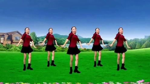 广场舞《怎么开心怎么活》唱出人生真理,舞步简单又好看