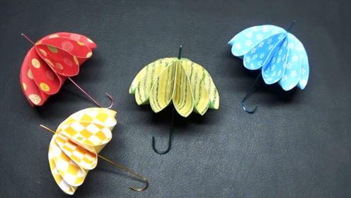 手工制作精致的纸伞工艺品,纸伞装饰品