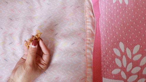 床单上放几根橡皮筋,如此厉害的妙用,现在了解还不晚