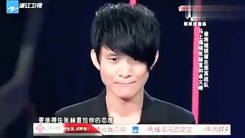 中国好声音:学员唱功获汪峰认可,歌声唱到心碎!