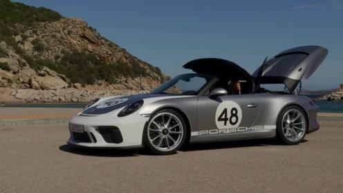2020款保时捷911 Speedster改装版高清鉴赏