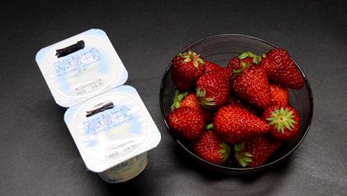 挑选草莓的方法,方法简单又实用,叮嘱家人学学