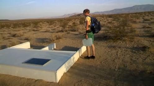 3个不可思议的泳池,藏在沙漠中,游泳还要自己带水