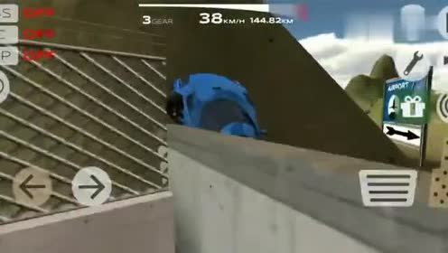 速度最快的限量版柯尼塞格城市飙车在山顶漂移飞奔进入飞机场?