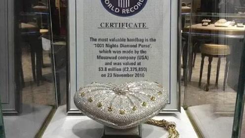 世界上最贵的包,镶有4517颗钻石,如今却放在迪拜展览!