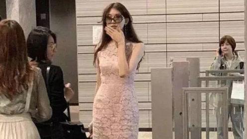 林志玲穿着粉嫩回日本婆家 不惧留言追求爱情