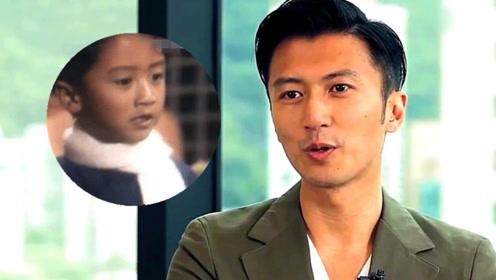 """5岁的谢霆锋长这个样子 网友感慨""""男大十八变"""""""