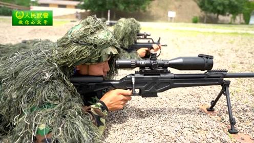 特种狙击训练剪影