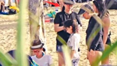 谢霆锋前经纪人霍汶希7岁女儿近照曝光,平时跟小姨生活