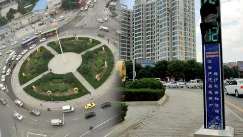 绕哭导航!甘肃最难转盘现8个红绿灯,司机懵圈特意研究路线