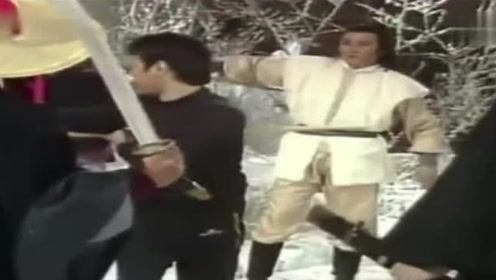 经典影视83版射雕幕后花絮, 黄蓉好美, 都是真人无替身