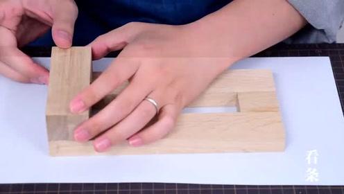 用木头做个台虎钳,这功能丝毫不逊色,做工更是精良