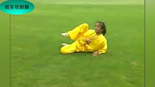 一女子练猴拳,真的很少见!