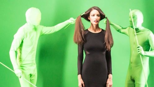 洗发水广告里的秀发效果,都是这样拍出来的