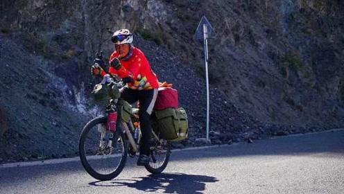 挑战自我!62岁大爷独自骑车进藏,3个月往返2万里,狂瘦33斤