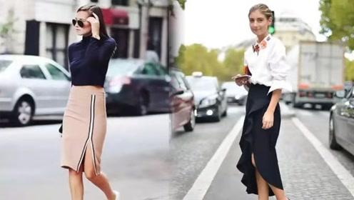 风格百变的开衩裙 你真的不来一条吗?