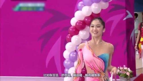 艺术体操女神刘佳慧,大秀傲人好身材,柔韧度引人遐想