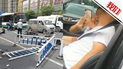 운전자 간질병 발작해서  발생…