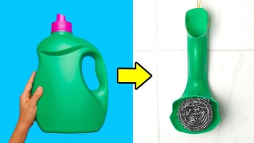 塑料瓶不要扔,剪几刀放在厨房,省钱又实用家人都说好
