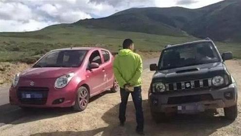 川藏线上被抛弃的豪车,为什么没人敢捡?当地人:吃过亏