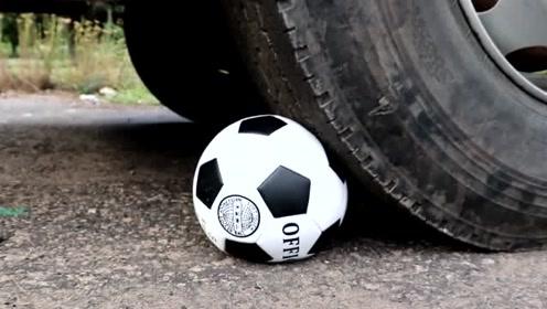 看卡车怎么玩转足球、篮球,画面很解压,看着很舒适