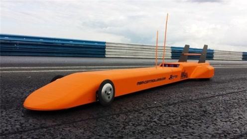 世界上最快的3D遥控车,时速高达200公里,交警都不一定追上