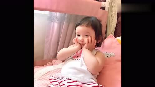 """会""""可爱""""的萌娃!宝宝:虽然人家还小,但是懂得可不少!"""