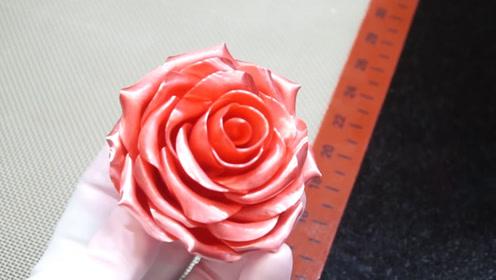 """韩国大师用""""糖浆""""制作花朵,一份卖2000元,看完过程:厉害"""