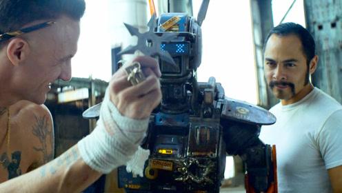 科学家发明情感机器人,结果被坏人抢走,差点培养成了犯罪工具!