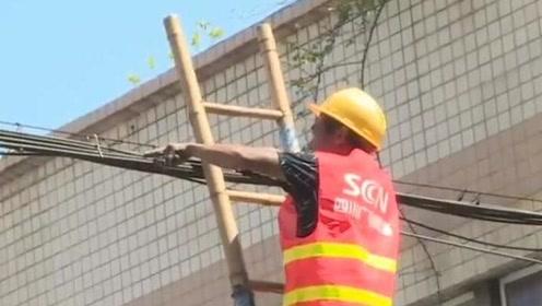 宜宾南溪老城区弱电管网入地改造工程正式启动
