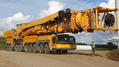 世界最强起重器被运到船上!变成一台重型船舶起重机