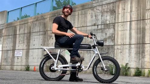 一款起步为17万的自行车,使用军用级材料,最大负重300斤