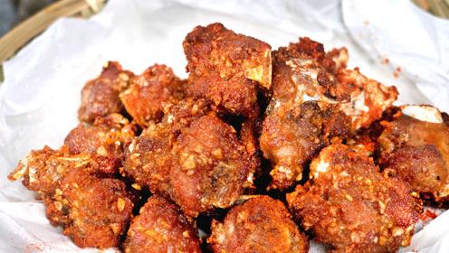 教你蒜香排骨的家常做法,不用烤箱,酥到掉渣,比饭店还好吃!