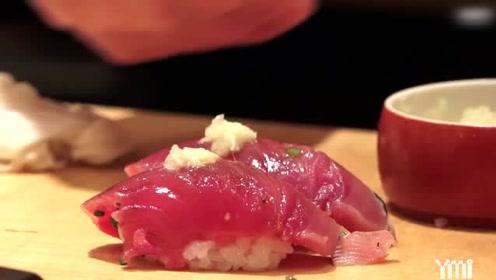 日本东京料理-要价139美元的新鲜生鱼片寿司是这样的