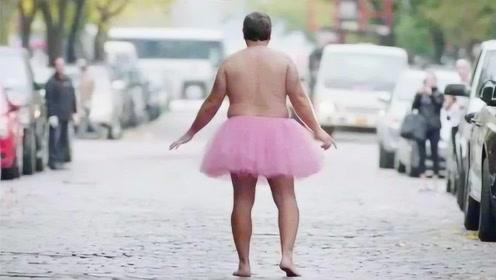 大叔穿粉色蓬蓬裙15年,开始有人报警抓他,最后警察却被感动了