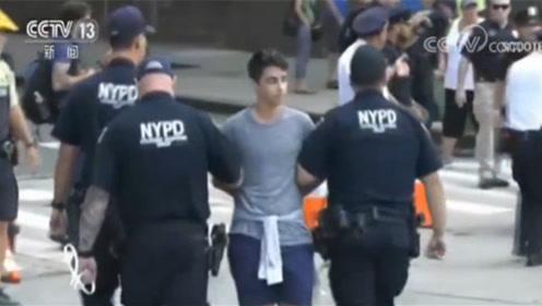 美国:示威者阻碍交通,警方抓捕百人