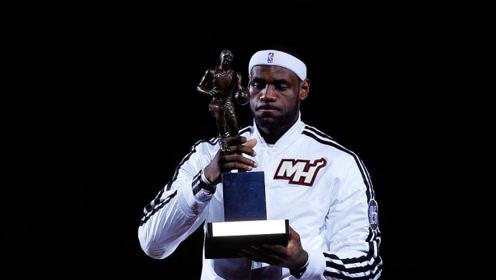 21世纪最具含金量的3大MVP  13詹皇不敌这人