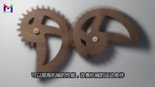 为什么不规则的齿轮照样可以转动?看到它的工作原理不得不佩服