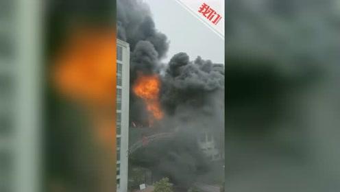贵州黔东南一打火机厂厂房突发大火 致1死3重伤