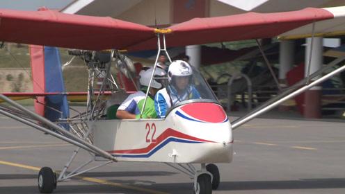 旅游新去处!坐朝鲜自制飞机2000米高空俯瞰平壤