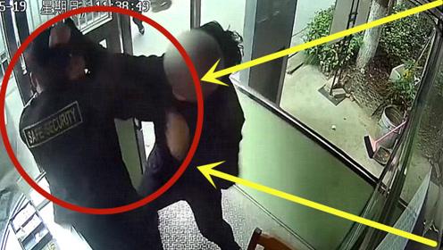 社会巨婴!男子拒缴停车费欲冲卡,保安阻拦遭疯狂锤击!