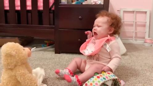 看看宝宝们那些奇奇怪怪的玩具,总被吓一跳,太可爱了!